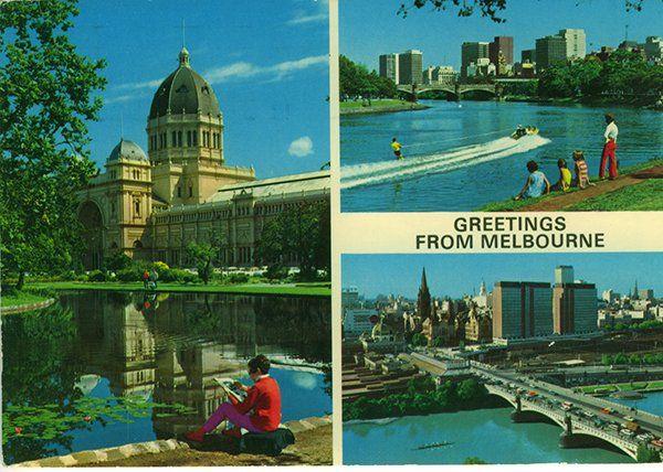 John Hinde's 1970's Melbourne.