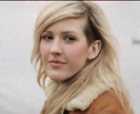 Woman Half Head Shaved - Ellie Goulding!!!