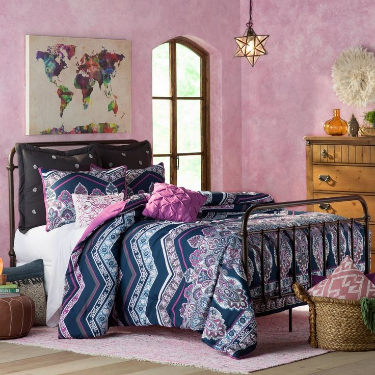 Get inspired by Eclectic Bedroom Design photo by Wayfair. Wayfair lets you find the designer products in the photo and get ideas from thousands of other Eclectic Bedroom Design photos.