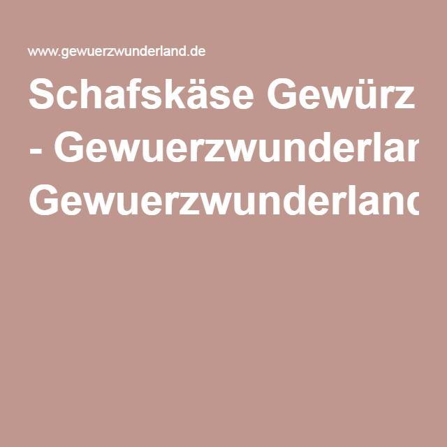 Schafskäse Gewürz - Gewuerzwunderland