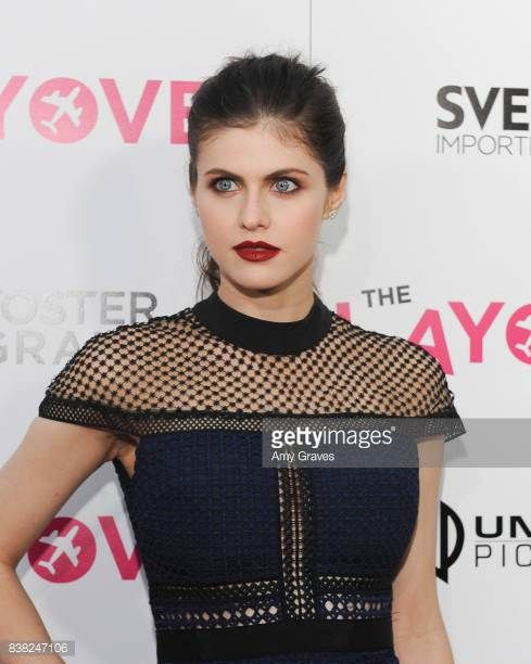 Alexandra Daddario attends 'The Layover' film premiere hosted by Vertical Entertainment DIRECTV Foster Grant and SVEDKA on August 23 2017 in Los...
