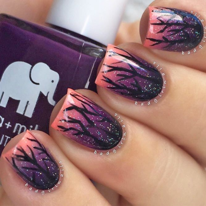 The trendiest fall nail designs require some practice to look perfect. However, if you… - http://makeupaccesory.com/the-trendiest-fall-nail-designs-require-some-practice-to-look-perfect-however-if-you-13/