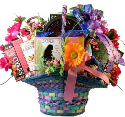 100 best gifts baskets images on pinterest easter gift baskets extravagant easter premium easter gift basket holiday adds negle Choice Image