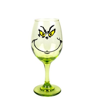 25 best ideas about christmas wine glasses on pinterest for Holiday wine glass crafts