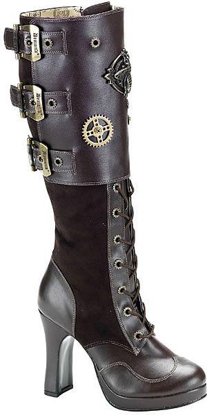 Intrepid Steampunk boots