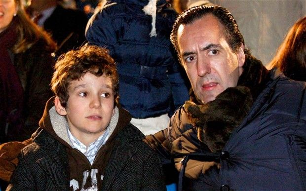 The Spanish king's son in law and the grandson. Spanish King Juan Carlos' grandson shoots himself in foot. His 13 year old son shot himself in the right foot with a 36 calibre shotgun. (It is illegal under spanish law for a 13-year-old to handle the type of gun the boy was carrying. And now we know why.)