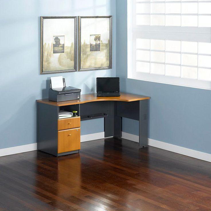 17 best ideas about corner computer desks on pinterest computer desks white corner computer. Black Bedroom Furniture Sets. Home Design Ideas