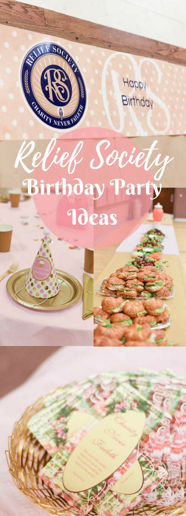 Simple and Fun Relief Society Birthday Ideas