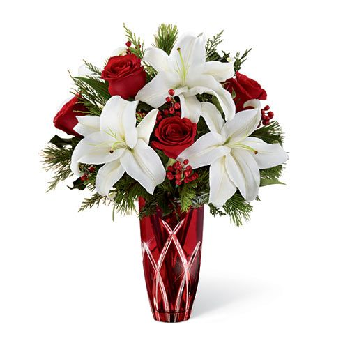 Find This Pin And More On Christmas Fl Arrangements For Delivery