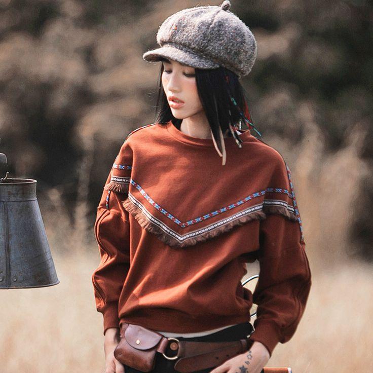 Aporia.as пуловер   Aporia.as оригинальный свободный пуловер с круглым вырезом, вышивкой и кисточками. Состав: 97.1% хлопок, 2.9% спандекс. ☮️Цена: 2500 руб. Закажите на сайте: bohomagic.ru, доставка от 2 недель. http://bohomagic.ru/shop/for-her/aporia-as-pulover/ #бохо #boho #bohochic #бохошик #бохоодежда #бохостиль #бохостайл #стиль  #девушка #бохомода #aporiaas #апориаас #интернетмагазин #одежда #шоппинг #магиябохо #bohomagic #кофта #свитер #полувер #толстовка #cowgirl #богемный #hippie…