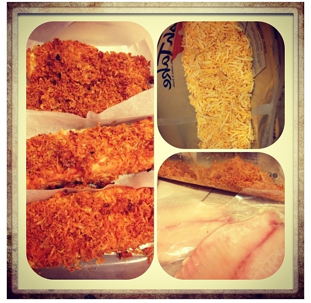 32 best images about panko crusted recipes on pinterest for How do you bake fish
