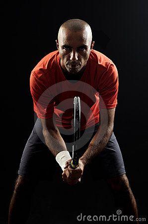 Tennis Player Portrait Stock Photos - Image: 19566993