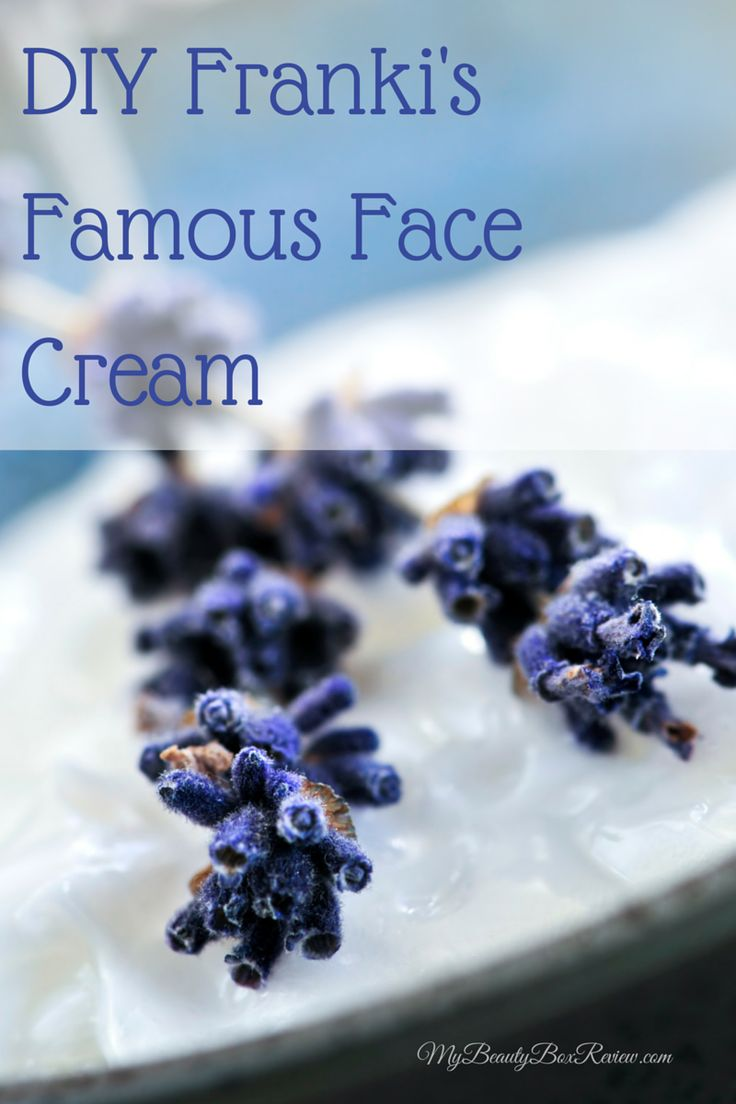 I am so excited about today's post because today's featured ingredients is known for not only its calming properties but it is also a common ingredient in anti-aging and moisturizing skin care products. We are making what I have dubbed Franki's Famous Face Cream.
