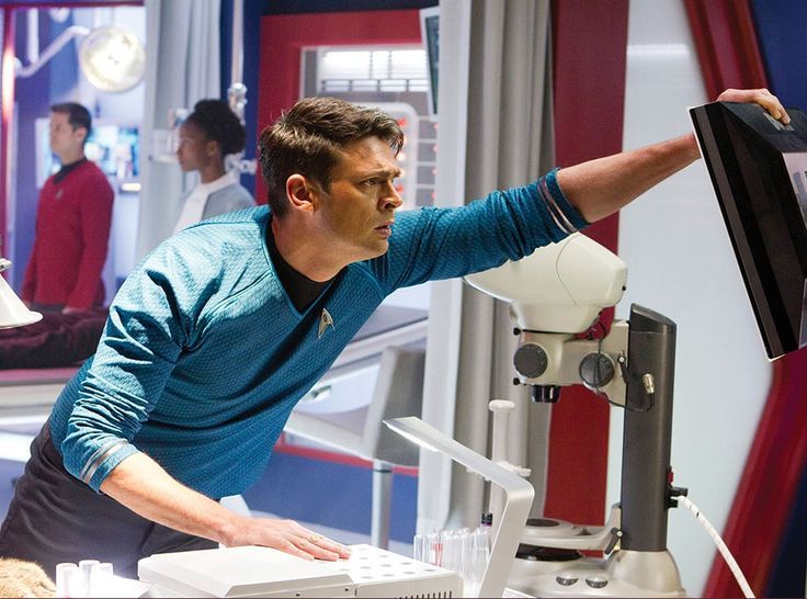 How have I never seen this picture of Leonard McCoy before?