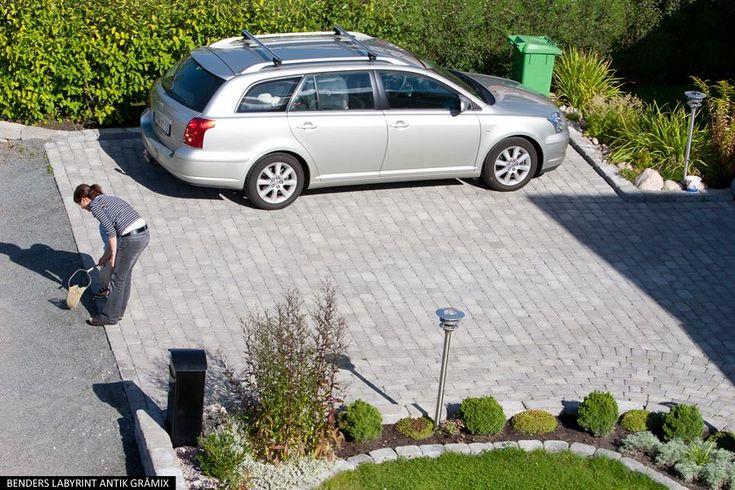 Bender Labyrint antik helsten 50, en marksten för gångar & garageuppfart - Molnsätra