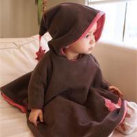 Cape capuchon enfant Patron couture gratuit