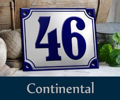 Ramsign produces classic Porcelain Enamel Signs using the original enameling technique which means stenciling each sign by hand. http://ramsign.de