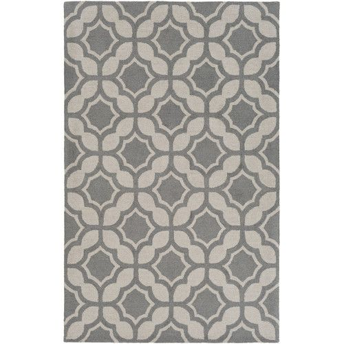 Found it at Joss & Main - Brenna Gray Wool Hand-Woven Area Rug