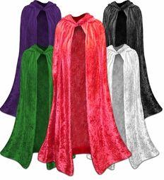 SALE! Plus Size Halloween Capes! Red, Black, Dark Purple, Green, or White Plus Size & Supersize Halloween Costume Cape 1x 2x 3x 4x 5x 6x 7x 8x