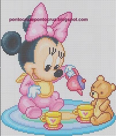 Minnie con giochi