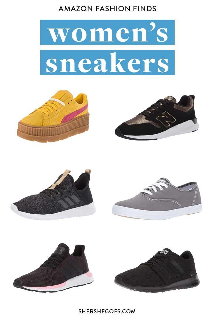 Women's Casual Sneakers: 12 Amazon