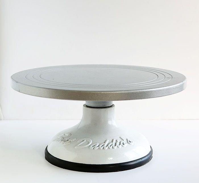 Rotating Cake Pedestal Stand