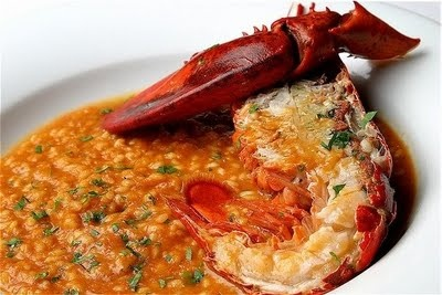 Risotto all' Aragosta , Risotto with Lobster