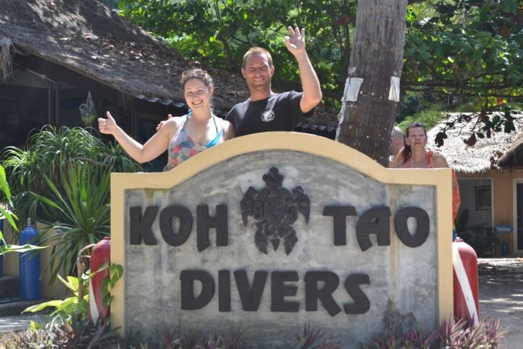 Are you dying to learn to scuba dive? Be sure to check out Koh Tao Divers. I had the time of my life and I'm dying to go back!!!