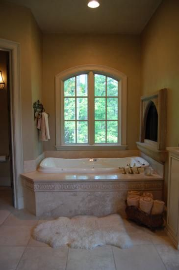 147 best bathroom fireplaces images on pinterest dreams for Bathroom builders birmingham