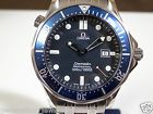 Classic Men's Omega Seamaster Quartz SS 300M Watch 41mm Size 9 Free US Ship
