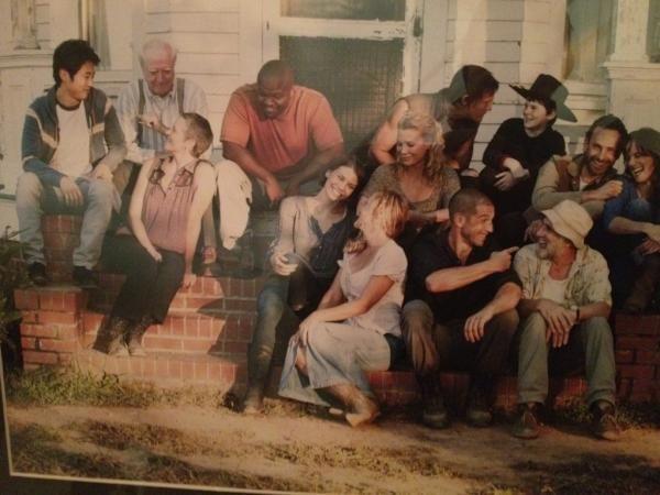 walking dead cast photos season 4 | The Walking Dead - Season 2 - Filming Wrapped | Spoilers