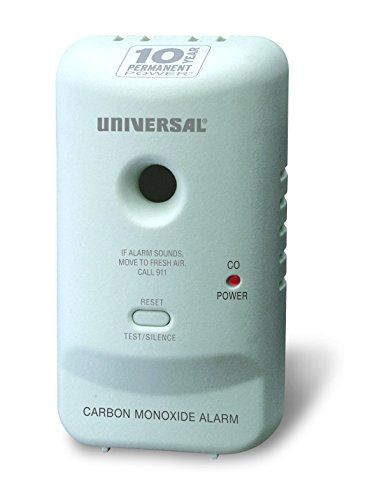 Universal Security Instruments MC304SB Carbon Monoxide Smart Alarm with 10 Year Sealed Battery - The Universal Security Instruments MC304SB Carbon Monoxide Smart Alarm provides 10 years of continuous protection against the silent killer - carbon monoxide. Perfect for new or replacement installations, this maintenance-free alarm is suitable for houses, apartments and mobile homes in every roo...