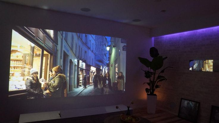 The 4K Ultra Short Throw Projector uses an SXRD laser projector to deliver its 4096 x 2160 image.  It'll cost a whopping $50,000 when it hits later in September.