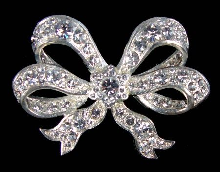 Queen Victoria's diamond bow brooch - this is still worn by Queen Elizabeth II today