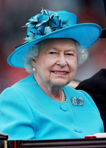 Queen Elizabeth, June 19, 2014 in Rachel Trevor Morgan | Royal Hats....Ascot Day 3: Ladies' Day.....Posted on June 19, 2014 by HatQueen