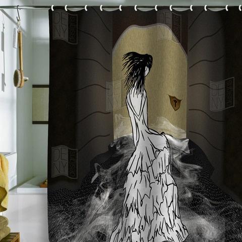 fetish curtain plastic shower