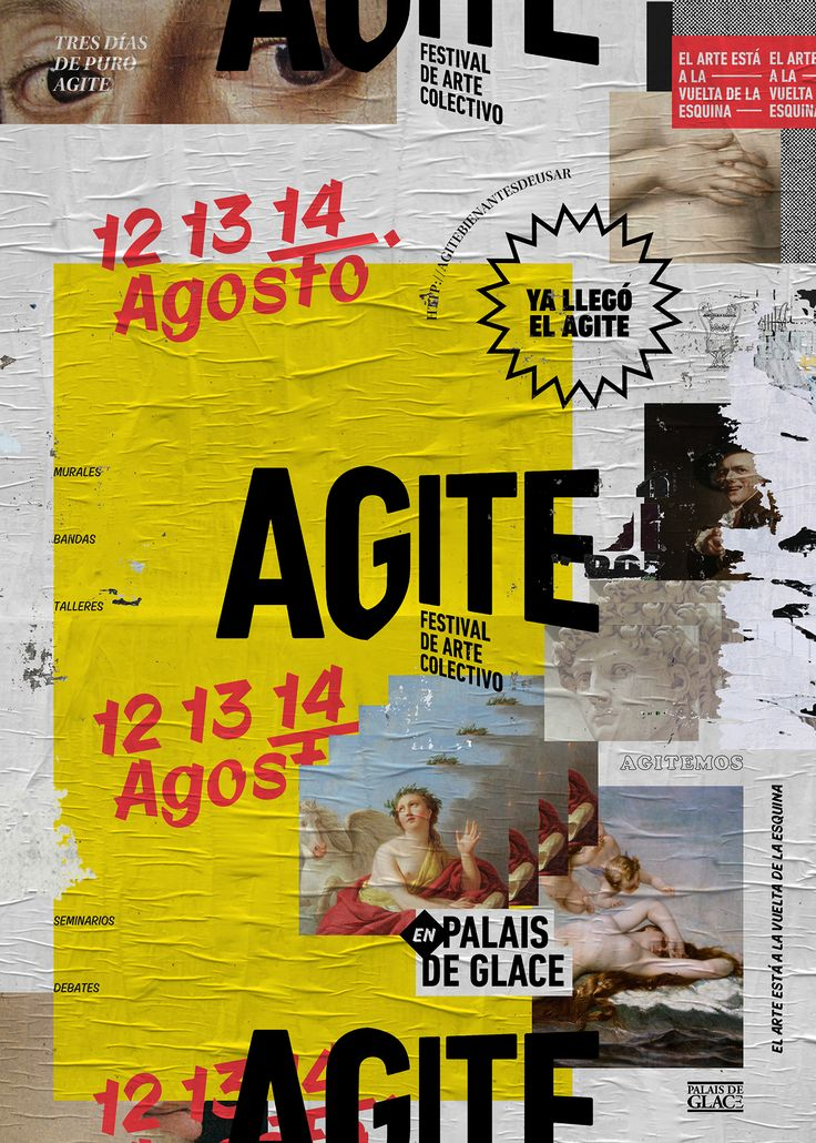 Agite (bien antes de usar) on Behance