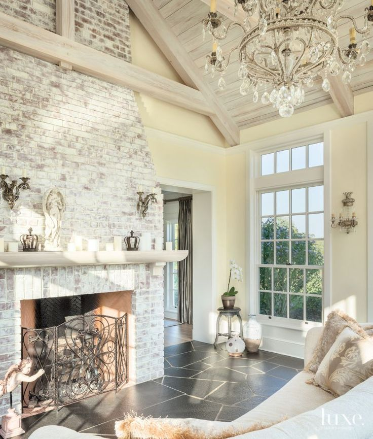25 Best Ideas About Painted Brick Fireplaces On Pinterest