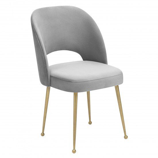 Fabulous Olivia Dining Chair Light Grey In 2019 Dining Room Download Free Architecture Designs Grimeyleaguecom