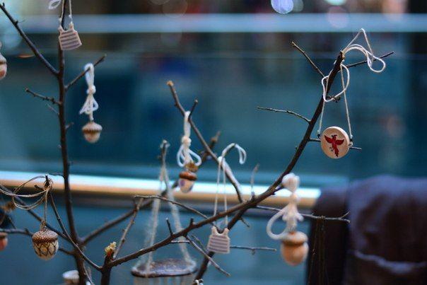 с выставки автор : Виктория Виноградская. Керамика, валяние , felting , ctramic , accessories