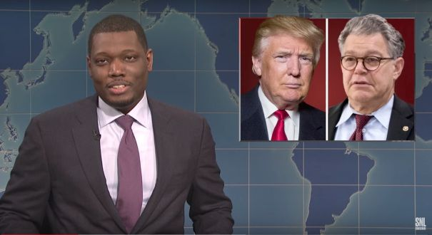 'SNL' Vs Al Franken: Weekend Update Takes On A Former Writer