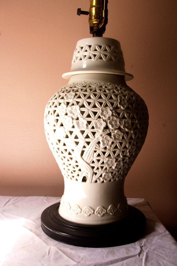 blanc de chine ginger jar lamp - Ginger Jar Lamps