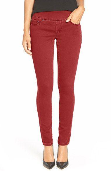 Petite skinny pull on jeans