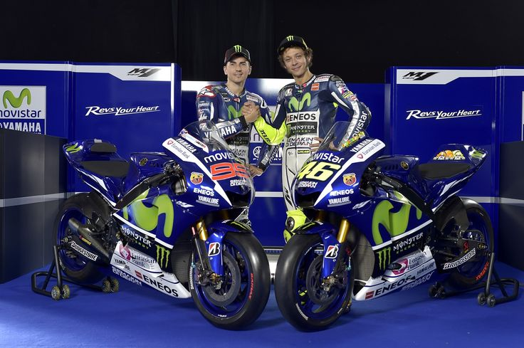 MotoGP: Moviestar Yamaha presents the 2015 season in Madrid