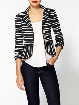 Nanette Lepore Playgirl Jacket | Piperlime: Clothing, Outfit Inspiration, Blazers Fashion, Structures Stripes, Stripes Blazers, Coats Blazers Jackets, Stripes Outfit, Playgirl Jackets, Stripes Jackets