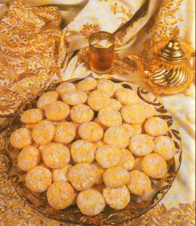 Ghriba marokanisches Mandel Gebäck Rezept