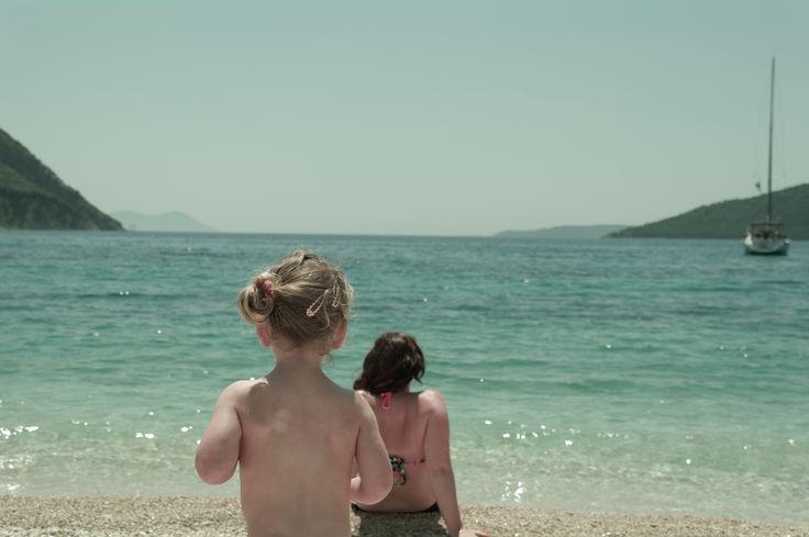 Poros Mikros Gialos beach Lefkada