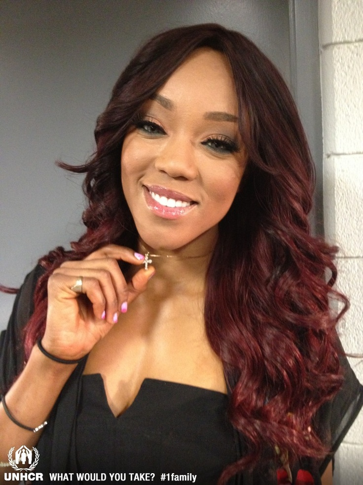 """WWE diva, Alicia Fox - """"My name is Alicia Fox and if I were a refugee, forced to flee my home, the most important thing I would take with me is my 14 carat piece of faith that my mom gave me.""""  Visit 1family: http://www.unhcr.org/1family"""