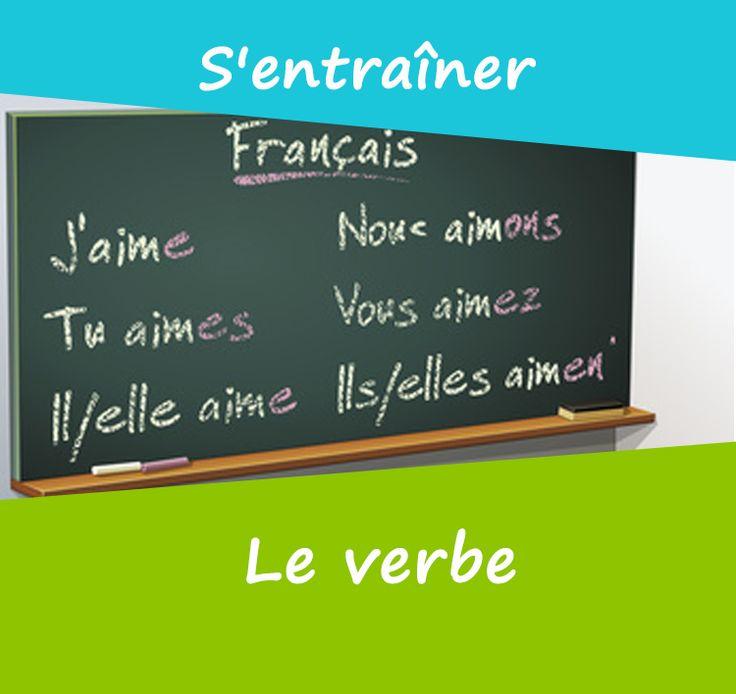 Dans une phrase, le verbe exprime une action. Il faut reconnaître le verbe dans la phrase et être capable de donner son infinitif.