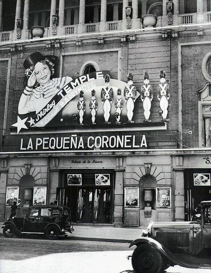 El Palacio de la Música en la Gran Vía (Madrid), 1935